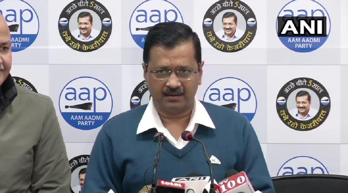 CM अरविंद केजरीवाल ने कहा- पुलिस को दोष न दें, वह ऊपर के आदेश का पालन करती है