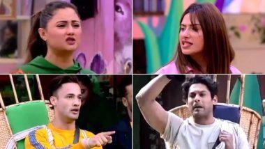 Bigg Boss 13 Day 88 Highlights: रश्मि देसाई ने छुए माहिरा शर्मा के पैर, टास्क के दौरान मचा बवाल