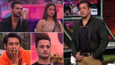 Bigg Boss 13 Weekend Ka Vaar Highlights: सिद्धार्थ शुक्ला-असीम रियाज पर भड़के सलमान खान, रश्मि देसाई हुईं एक्सपोज