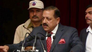 केंद्रीय मंत्री डॉ. जितेंद्र सिंह बोले- परमात्मा चाहते थे की Article 370 मोदी जी जैसे महापुरुष के हाथों खत्म हो
