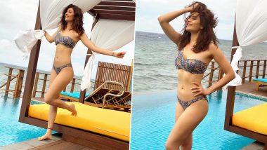 Karishma Tanna Hot Photo: करिश्मा तन्ना ने Bikini पहनकर पानी में लगाईं आग, सेक्सी फोटो हुई Viral