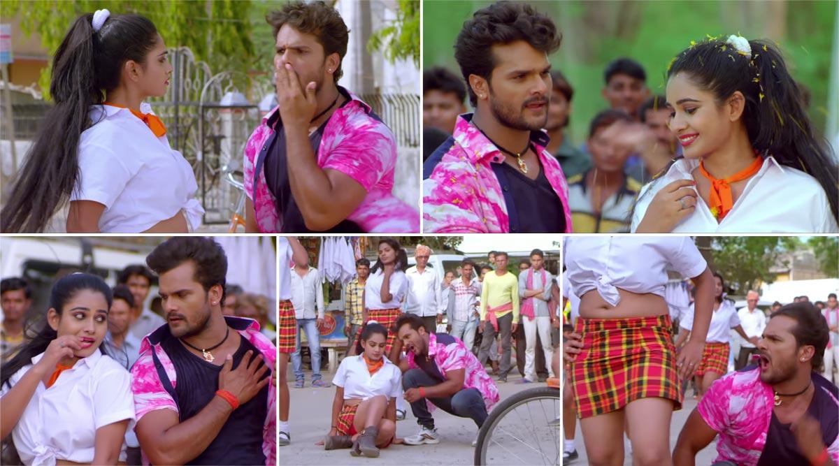 Khesari Lal Yadav Bhojpuri Song: खेसारी लाल यादवनेऋतू सिंह के साथ 'लगाके फेयर एंड लवली' सॉन्ग पर किया जबरदस्त डांस, देखें Video