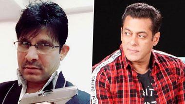 एक्टर कमाल राशिद खान उर्फ KRK का आरोप, सलमान खान इन 2 एक्टर्स का करियर कर रहे हैं बर्बाद, पढ़ें पूरा ट्वीट