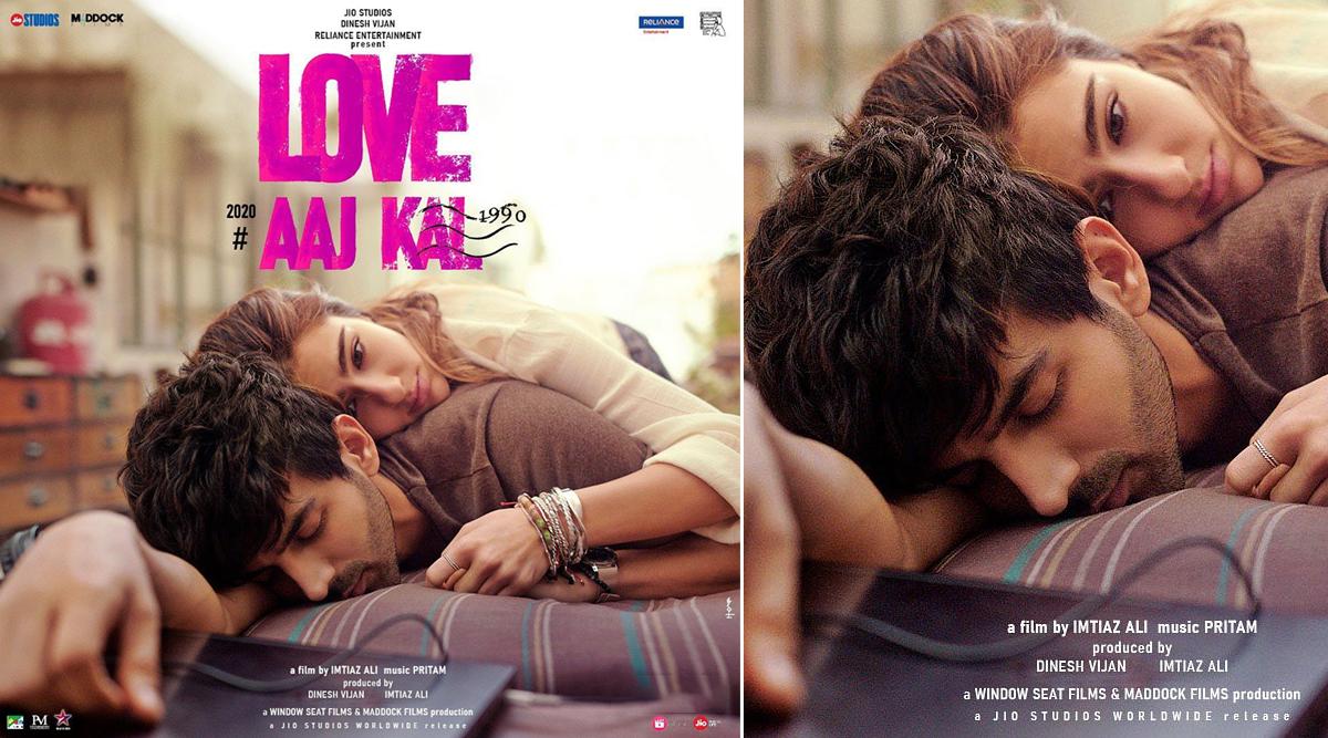 Love Aaj Kal First Poster: फिल्म 'लव आज कल' से कार्तिक आर्यन-सारा अली खान का रोमांटिक पोस्टर हुआ रिलीज
