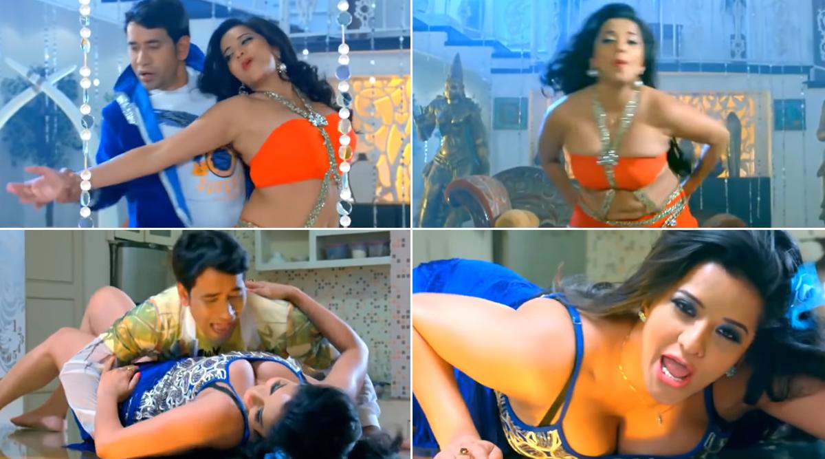मोनालिसा ने Hot नाईट ड्रेस पहन निरहुआ के साथ किया बोल्ड डांस, तेजी से वायरल हो रहा है ये गाना