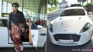 रणवीर सिंह अपनीनईअस्टन मार्टिन कार चलाकर पहुंचे मुंबई एयरपोर्ट, सामने आई ये स्पेशल Photos