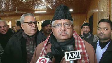 केंद्रीय मंत्री रविशंकर प्रसाद बोले- जम्मू-कश्मीर में तेजी से विकास चाहते हैं पीएम