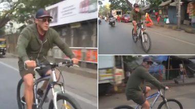 Republic Day 2020: सलमान खान ने फैंस को दिया फिट इंडिया का संदेश, साइकिल चलाते हुए शेयर ये मजेदार Video