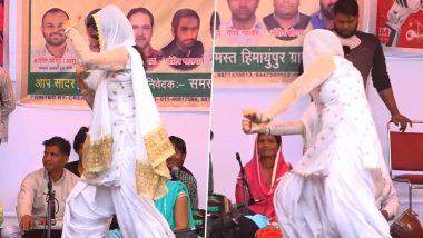 Sapna Choudhary Dance Video:हरयाणवी डांसर सपना चौधरी ने शख्स के साथ किया Hot नागिन डांस, देखें धमाकेदार Video