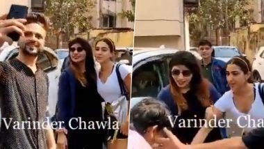 सारा अली खान के हाथ पर फैन ने की Kiss करने की कोशिश, सुरक्षाकर्मियों ने बचाया, देखें Video