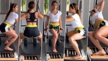 Sara Ali Khan Gym Video:सारा अली खान का Hot जिम वीडियो हुआ Viral, दे रही हैं फिटनेस गोल्स
