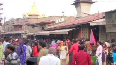 शिरडी: बंद के दौरान सड़कों पर दिखा सन्नाटा, भक्तों के लिए खोला गया साईं प्रसादालय- उद्धव कल करेंगे बैठक