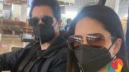 Coronavirus के डर से सनी लियोन और पतिडेनियल वेबर ने पहना फेस मास्क, शेयर की ये फोटो