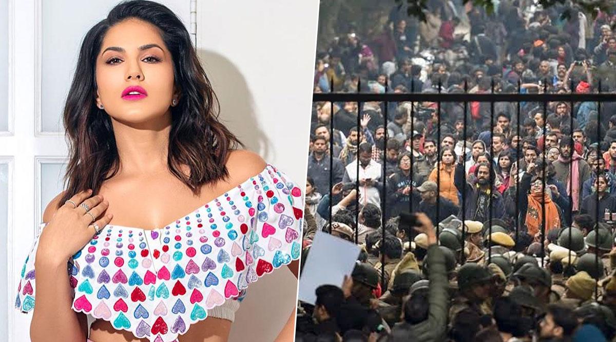 JNU Protests: सनी लियोन ने हिंसा की निंदा करते हुए दिया बयान, कहा- युवाओंको पीटने की बजाय उनकी रक्षा कीजानी चाहिए