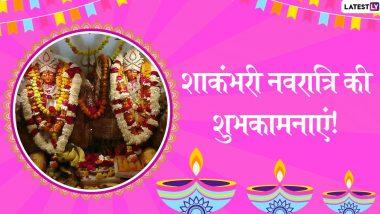 Shakambhari Navratri 2020 Wishes: शाकंभरी नवरात्रि के पावन अवसर पर ये हिंदी WhatsApp Stickers, Facebook Messages, Wishes, GIF Images,   Photo SMS और Wallpapers भेजकर दें शुभकामनाएं