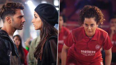Street Dancer 3D vs Panga Box Office Day 1:'स्ट्रीट डांसर 3डी' ने की शानदार ओपनिंग तो वहीं 'पंगा' ने बटोरे इतने करोड़
