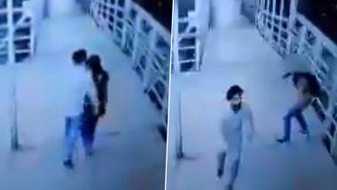Video: माटुंगा में चलती लड़कियों को छेड़ता नजर आया बेखौफ युवक, अश्लील हरकते CCTV कैमरे में कैद