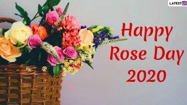 Happy Rose Day 2020 Greetings in English: रोज दे पर WhatsApp Messages, Wishes, Images और Stickers भेजकर अपने प्रियजनों को दें शुभकामनाएं