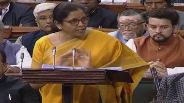 Budget 2020: वित्त मंत्री निर्मला सीतारमण का बड़ा ऐलान LIC में अपना हिस्सा बेचेगी मोदी सरकार