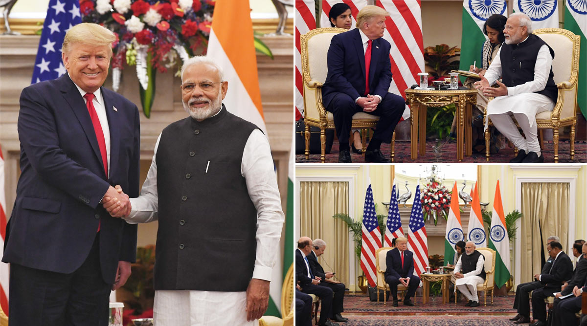 Trump India Visit: ट्रम्प-मोदी के बीच हुए कई समझौते, भारत को जल्द मिलेंगे अत्याधुनिक अमेरिकी हथियार