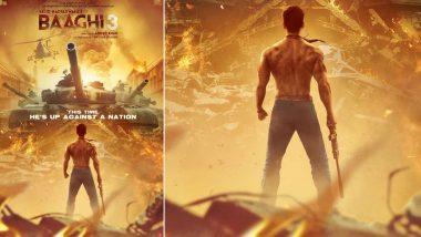 Baaghi 3 First Poster: 'बागी 3' का पहला पोस्टर हुआ रिलीज, दिखा टाइगर श्रॉफ का इंटेंस अंदाज