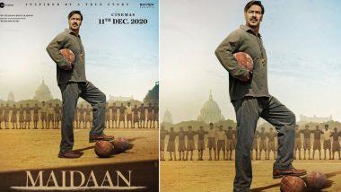 Maidaan: अजय देवगनस्टारर 'मैदान' हुई पोस्टपोन, एक्टर ने लेटेस्ट पोस्टर शेयर करके बताई नई रिलीज डेट