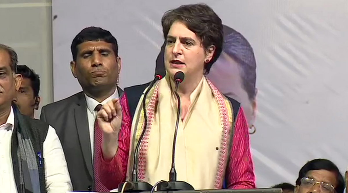 दिल्ली विधानसभा चुनाव 2020: प्रियंका गांधी ने BJP और AAP पर किया जमकर हमला, बोली- दोनों पार्टियां सिर्फ पब्लिसिटी में तेज