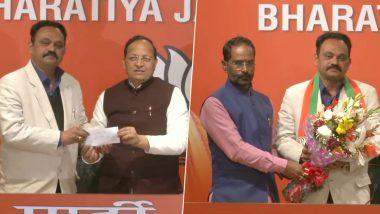 दिल्ली विधानसभा चुनाव 2020: कांग्रेस को लगा बड़ा झटका, जनार्दन द्विवेदी के बेटे समीर द्विवेदी बीजेपी में शामिल