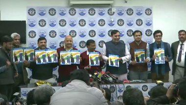 दिल्ली विधानसभा चुनाव 2020: AAP का चुनावी घोषणापत्र जारी, घर तक राशन पहुंचाने का किया वादा- बीजेपी पर दागे सवाल