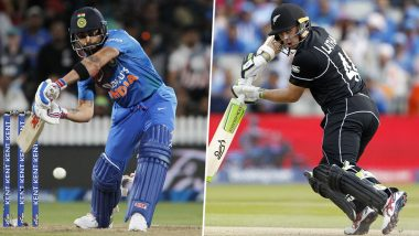 NZ 348/6 in 48.1 Overs (Target 347/4) | India vs New Zealand 1st ODI Match 2020 Live Score Update: रॉस टेलर को मिला 'मैन ऑफ द मैच'