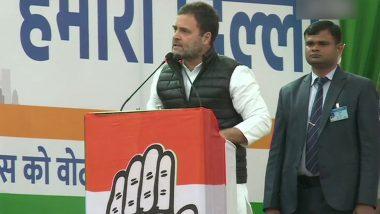 दिल्ली विधानसभा चुनाव 2020: राहुल गांधी ने BJP और AAP पर साधा निशाना, कहा- देशभक्ति सिखाने की जरुरत नहीं है