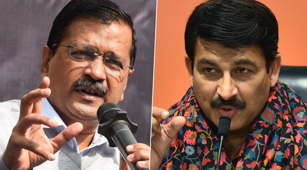 दिल्ली विधानसभा चुनाव 2020: अरविंद केजरीवाल का मनोज तिवारी को जवाब, कहा- ये कैसी राजनीति, भगवान सभी के हैं
