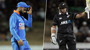 IND 251/10 in 48.3 Overs (Target 273/8) |  India vs New Zealand 2nd ODI Match 2020 Live Score Update: काइल जैमीसन को मिला 'मैन ऑफ द मैच