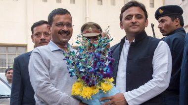 दिल्ली विधानसभा चुनाव 2020: मतदान खत्म होने से पहले ही अखिलेश यादव ने दी सीएम अरविंद केजरीवाल को बधाई, कहां- काम बोलता है