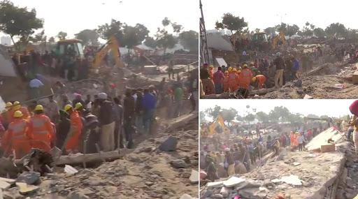 पंजाब के मोहाली में 3 मंजिला इमारत गिरी, मलबे में कई लोगों के फंसे होने की आशंका