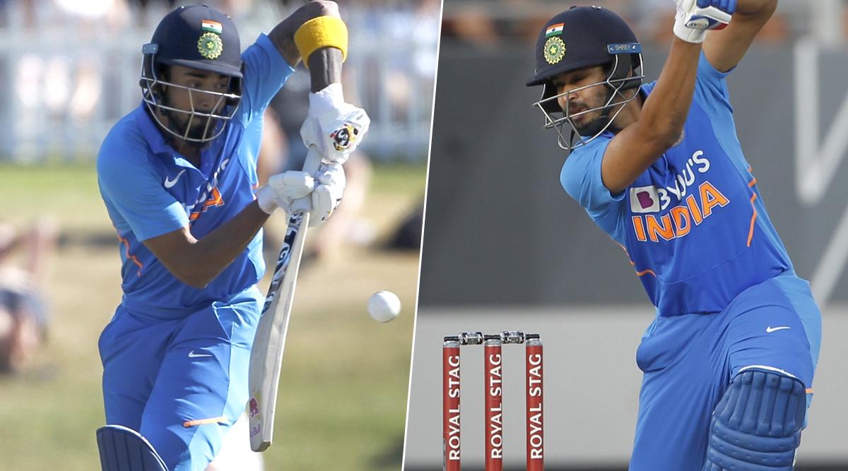 IND vs NZ 3rd ODI Match 2020: लोकेश राहुल ने लगाया शतक, अय्यर ने अर्द्धशतक, कीवी टीम को जीत के लिए चाहिए 297 रन