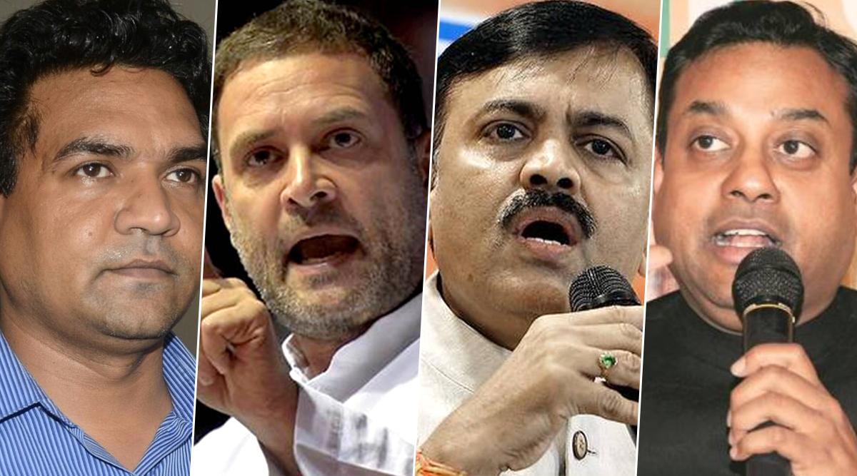 पुलवामा पर राहुल गांधी के ट्वीट से भड़की बीजेपी, संबित पात्रा समेत कई नेताओं ने किया पलटवार, कहा-शर्म करो