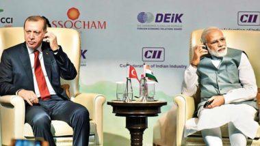 कश्मीर पर तुर्की के राष्ट्रपति के बयान पर भारत ने जताई आपत्ति, कहा- हमारे आतंरिक मामलों से दूर रहें