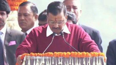 अरविंद केजरीवाल लगातार तीसरी बार बने दिल्ली के मुख्यमंत्री, उपराज्यपाल अनिल बैजल ने दिलाई पद और गोपनीयता की शपथ