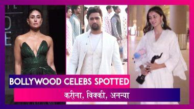 Kareena - Vicky बने LFW 2020 के शोस्टॉपर, Ananya - Janhvi भी हुईं स्पॉट | Celebs Spotted