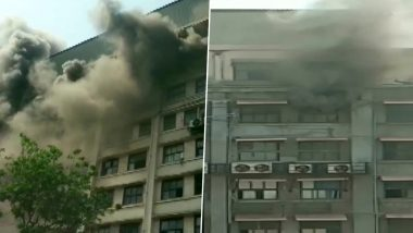 मुंबई: जीएसटी भवन में लगी आग, मौके पर फायर ब्रिगेड की कई गाड़ियां- राहत कार्य जारी