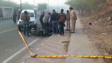 दिल्ली पुलिस ने पुल प्रह्लादपुर इलाके में मुठभेड़ के दौरान दो बदमाशों को किया ढेर