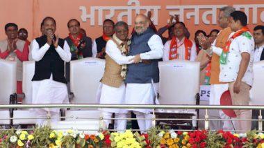 झारखंड विकास मोर्चा के अध्यक्ष बाबूलाल मरांडी की 14 साल बाद  BJP में वापसी, अमित शाह ने किया स्वागत