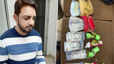 दिल्ली के IGI एयरपोर्ट पर 42 लाख रुपए की विदेशी करेंसी के साथ एक शख्स गिरफ्तार, परफ्यूम की बोतल में छिपाया था पैसा