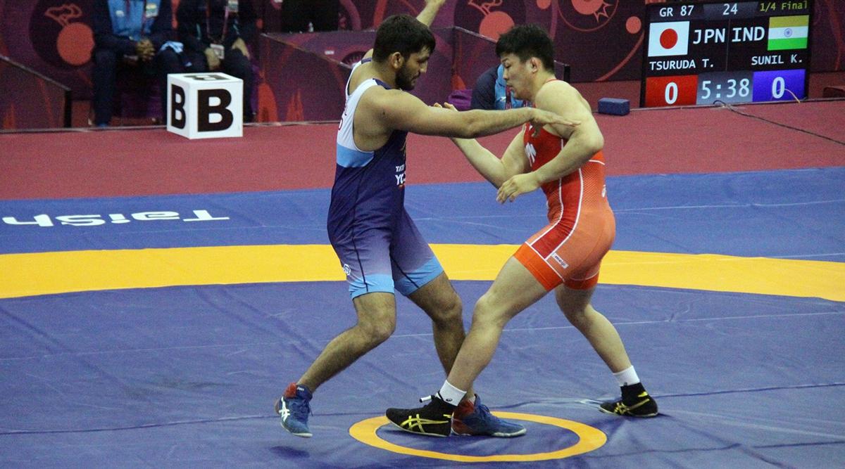 एशियाई कुश्ती चैंपियनशिप: सुनील कुमार ने ग्रीको रोमन में गोल्ड मेडल जीतकर रचा इतिहास