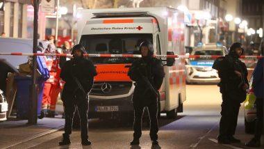 जर्मनी: हनाऊ शहर के दो हुक्का बार में फायरिंग, 8 लोगों की मौत- पुलिस ने पूरे इलाके को घेरा