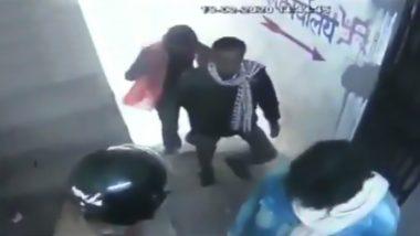 बिहार: मुजफ्फरपुर में दिनदहाड़े बैंक से 8 लाख की डकैती, सीसीटीवी फुटेज आया सामने