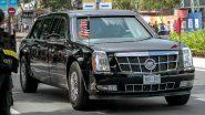 अमेरिकी राष्ट्रपति डोनाल्ड ट्रंप की कार The Beast बंकर से कम नहीं, हाईटैक तकनीक से है लैस और टैंक को देती है टक्कर, जानें खासियत
