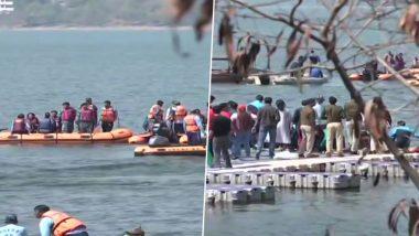 मध्यप्रदेश: बोट रेस के दौरान IPS अफसरों से भरी नाव पलटी, बाल-बाल बची 8 लोगों जान