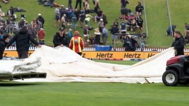 IND vs NZ 1st Test Match 2020: वेलिंग्टन में भारी बारिश की वजह से मैच रुका